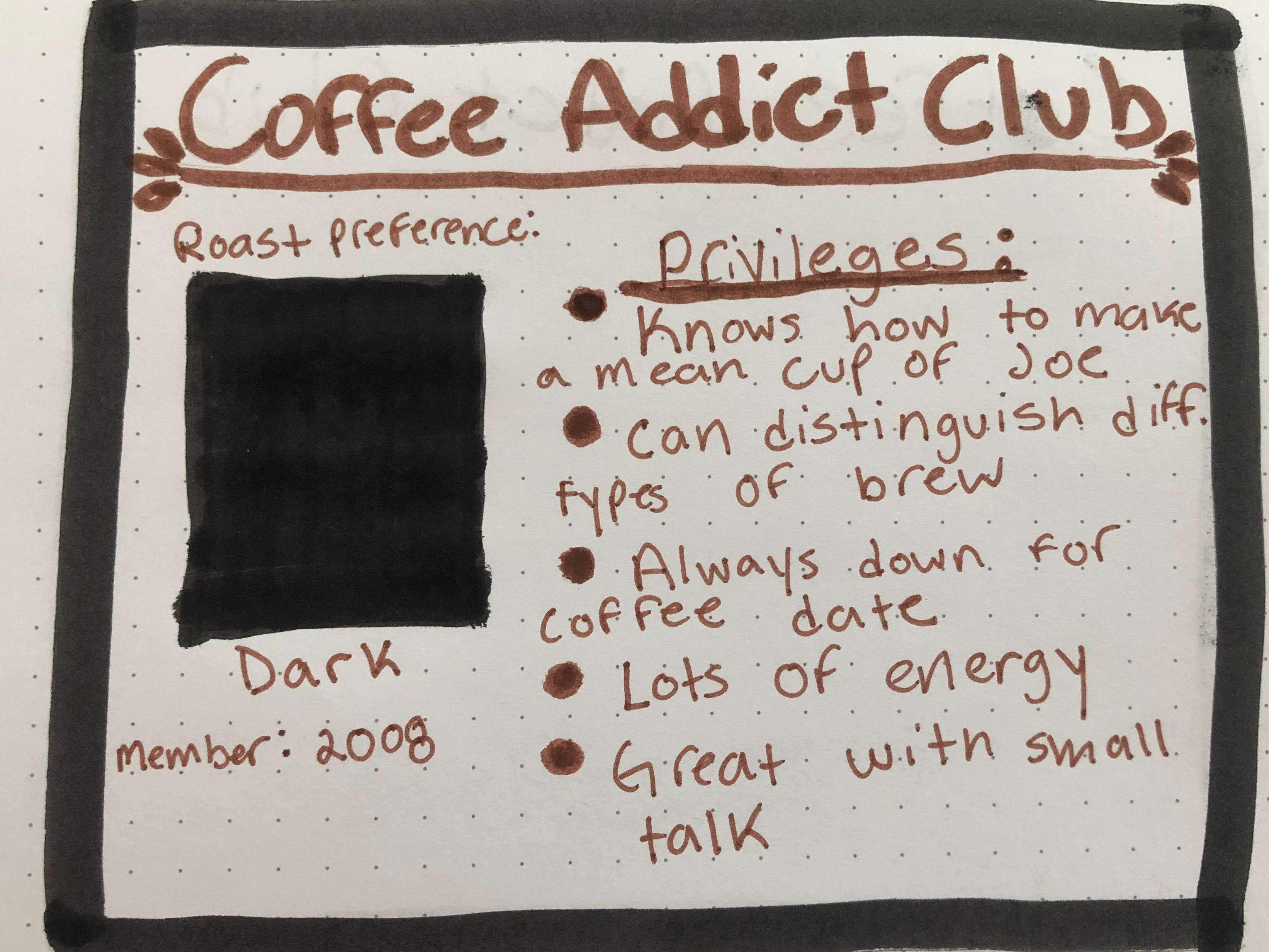 Coffee Addict Anonymous – Food for Thought with an Expresso Shot